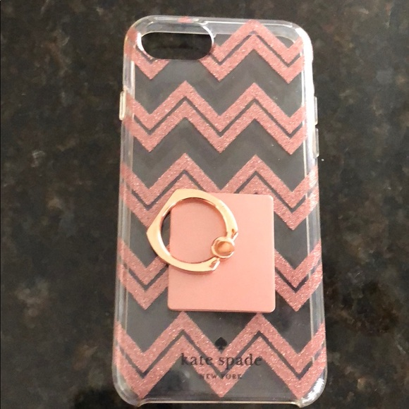 Kate Spade Accessories Iphone 8 Case With Ring Holder Poshmark